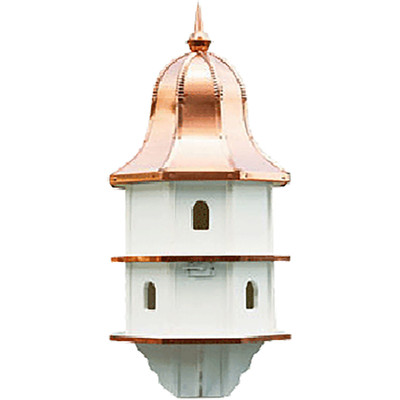 Amish Copper Bell Top 36ʺ Vinyl Birdhouse