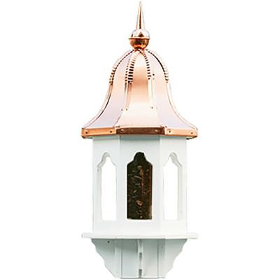 Amish Copper Bell Top 36ʺ Vinyl Bird Feeder