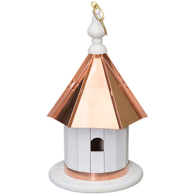 Amish 14ʺ Copper Top Wren House