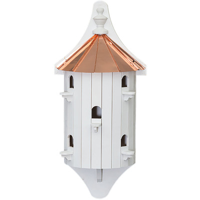Amish 30ʺ 5-Hole Wall-Mount Birdhouse