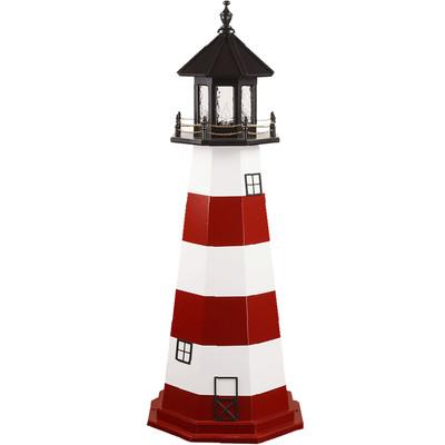 Assateague Island Replica Wooden Lighthouse