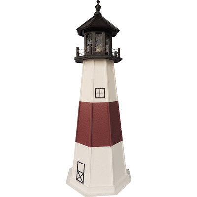 Montauk Point Replica Wooden Lighthouse