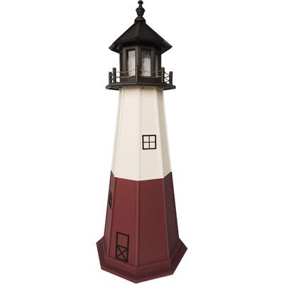 Vermillion Replica Wooden Lighthouse