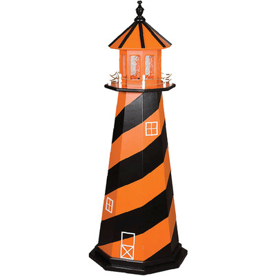 Baltimore Orioles Colors Wooden Lighthouse