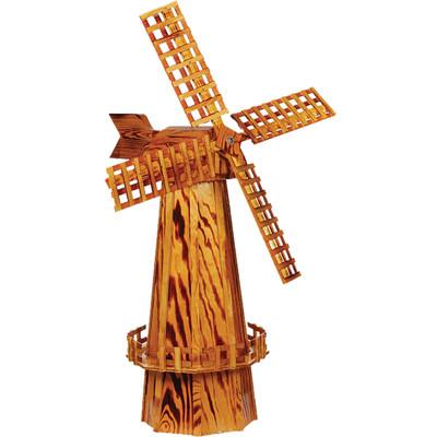 Amish 60ʺ Wooden Windmill