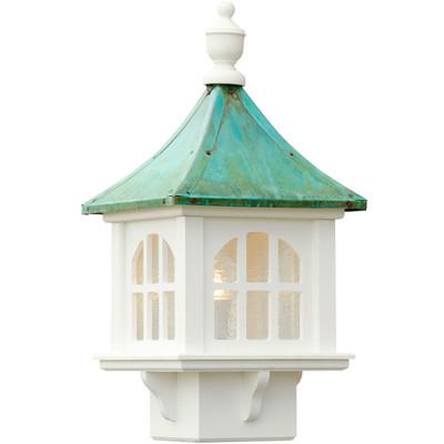 Vinyl Cupola Patina Copper Roof Lantern