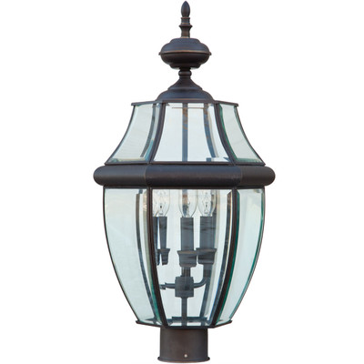 Lancaster Glass & Bronze Lantern