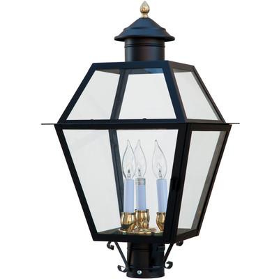 Lexington Glass Black Lantern