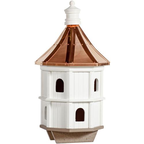 Birdhouse Amish Condo Copper Amp Vinyl Birdhouse