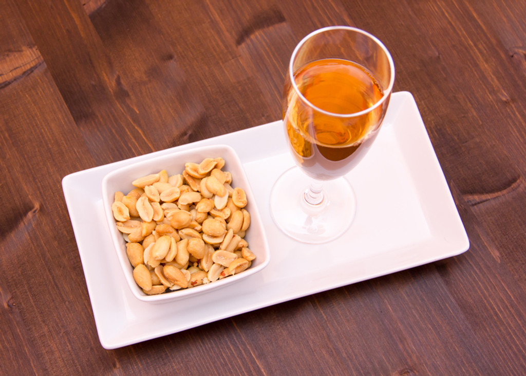 Wine and Peanuts, are they Compatible?