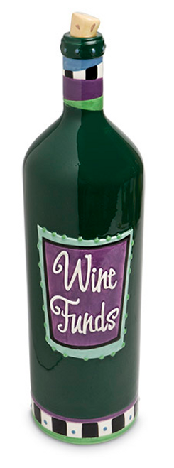 Wine Funds Money Bank