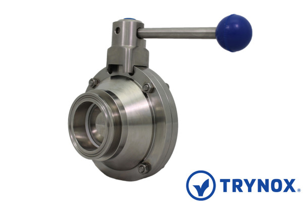 Trynox Sanitary Ball Valve Clamp Ends