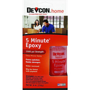 Devcon 5 Minute Epoxy Kit - 078143209451