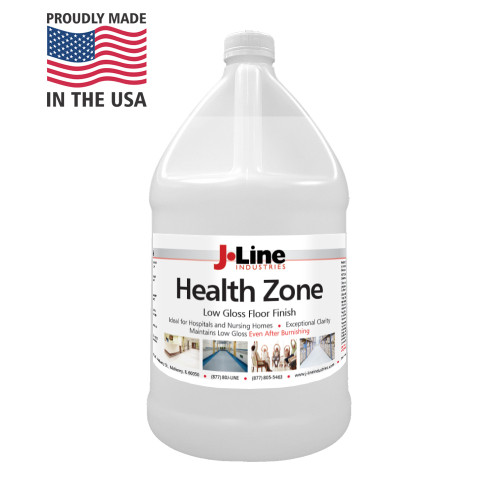 Formulated for environments such as healthcare facilities or nursing homes where a shiny, high gloss look may be of concern to residents.