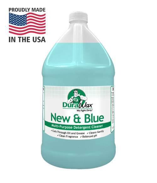 New and Blue is a ph neutral floor cleaner that is great for tough cleaning, neutralizing after stripping and and safe for many floor types.
