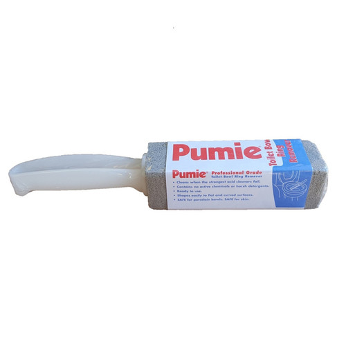 Pumie Stick with handle gives you extra leverage to get to those hard to reach places.