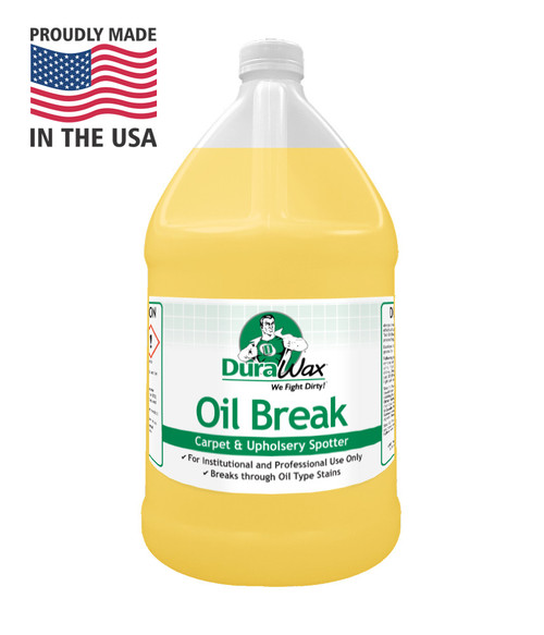 Oil Break will cut through tough spots, especially grease and oils.