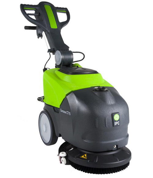 The CT15 offers exceptional productivity in tight areas.