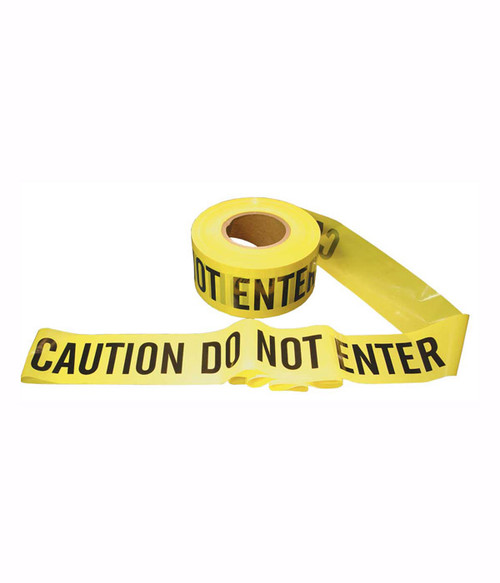 """Caution Do Not Enter"" Barricade Tape"
