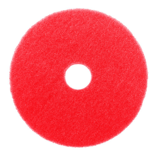 Dura Wax Red Floor Buffer Pads buff out light scratches and imperfection to give your floors to a brilliant shine.