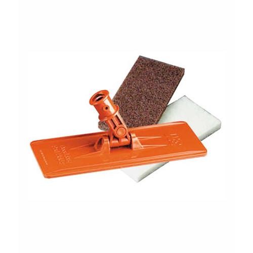 3M™ Doodlebug™ Intro Kit includes one Doodlebug Pad Holder, one Doodlebug White Cleansing Pads 8440 and one Doodlebug Brown Scrub 'n Strip Pad 8541.