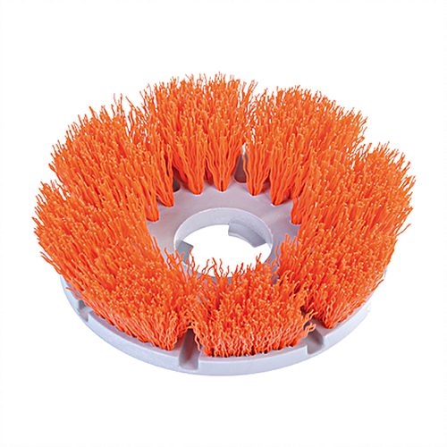 Aggessive strength scrubbing brush.