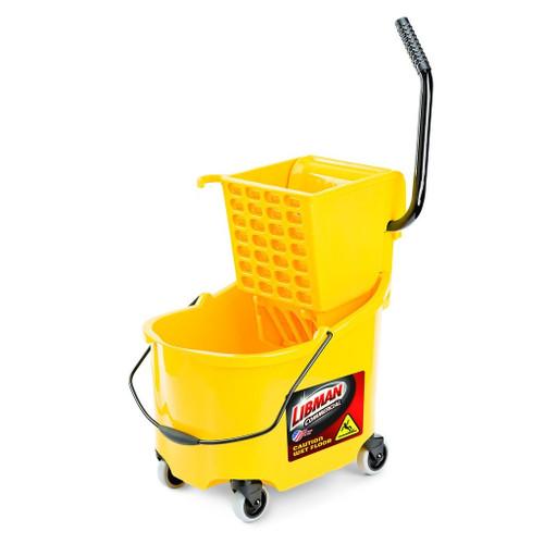Libman Commercial 26 Qt. Mop Bucket & Wringer