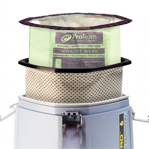 Micro Cloth Filters are used with Intercept Micro Filter Bags for superior filtration.