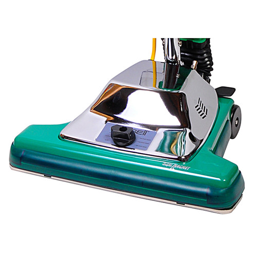 The Bissell BG102 features a 6 position carpet height adjustment.