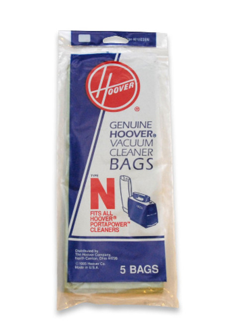Standard Type N Filtration, includes 5 bags per pack.