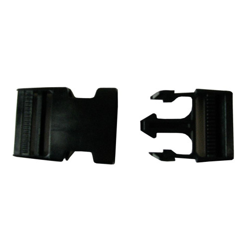 Replacement latch for Proteam backpack harness.