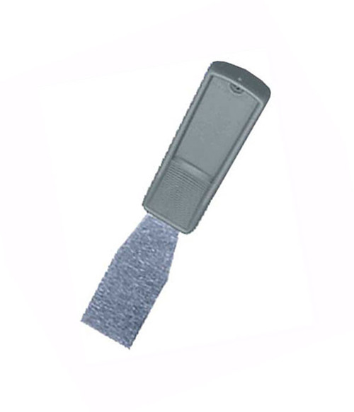 "1.25"" Wide Blade by 7"" Overall putty knife/hand scraper."