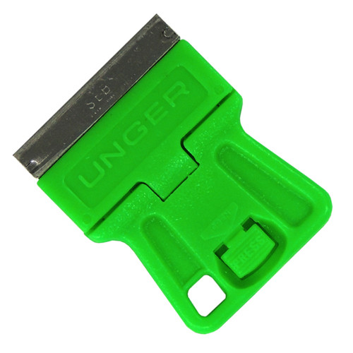 This mini scraper is ideal for getting into tight places.