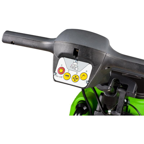 The CT45 Autoscrubber has easy to learn controls built into the handle.