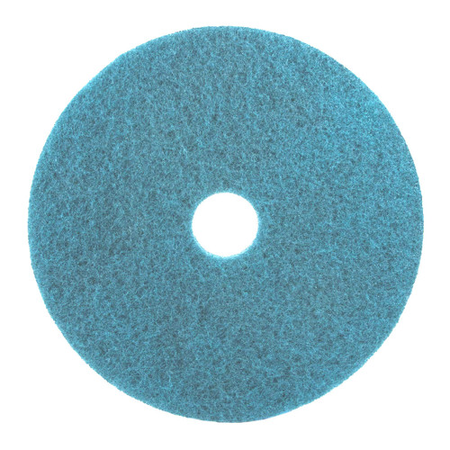 The 3M 5300 Blue Floor Cleaner Pad is used for Wet or Foam Scrubbing.