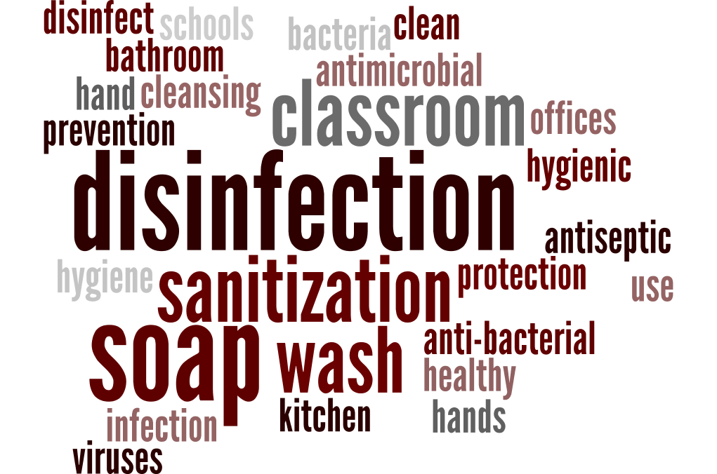 The Correct Way to Sanitize and Disinfect - Again!