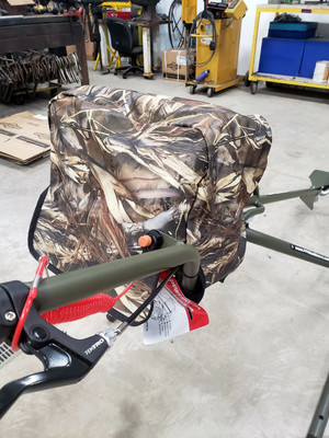 PPF Wood Duck 6.5hp Engine Cover