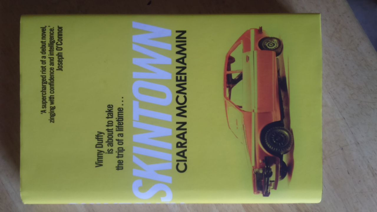 McMenamin, Ciaran -  Skintown - Signed Hardcover 1st Edition Brand NEW 2017