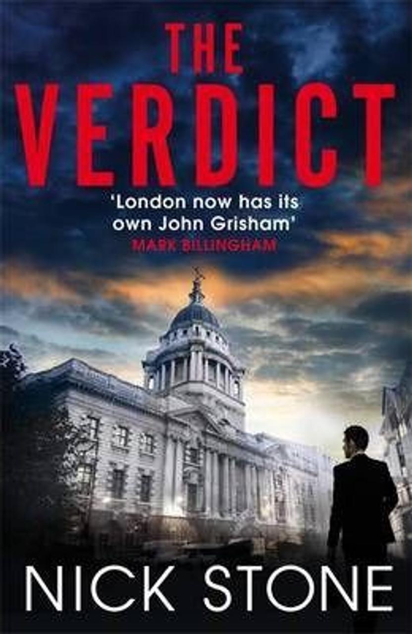 Stone, Nick - The Verdict - SIGNED HB UK 1st Edition  Legal Thriller