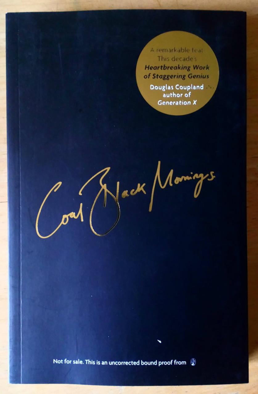 Anderson, Brett - Coal Black Mornings - Suede - Memoir - 2018 PB Proof Copy