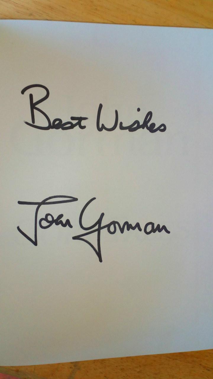 Gorman, John - Gory Tales Autobiography - SIGNED HB Football, Tottenham , Celtic, Scotland England