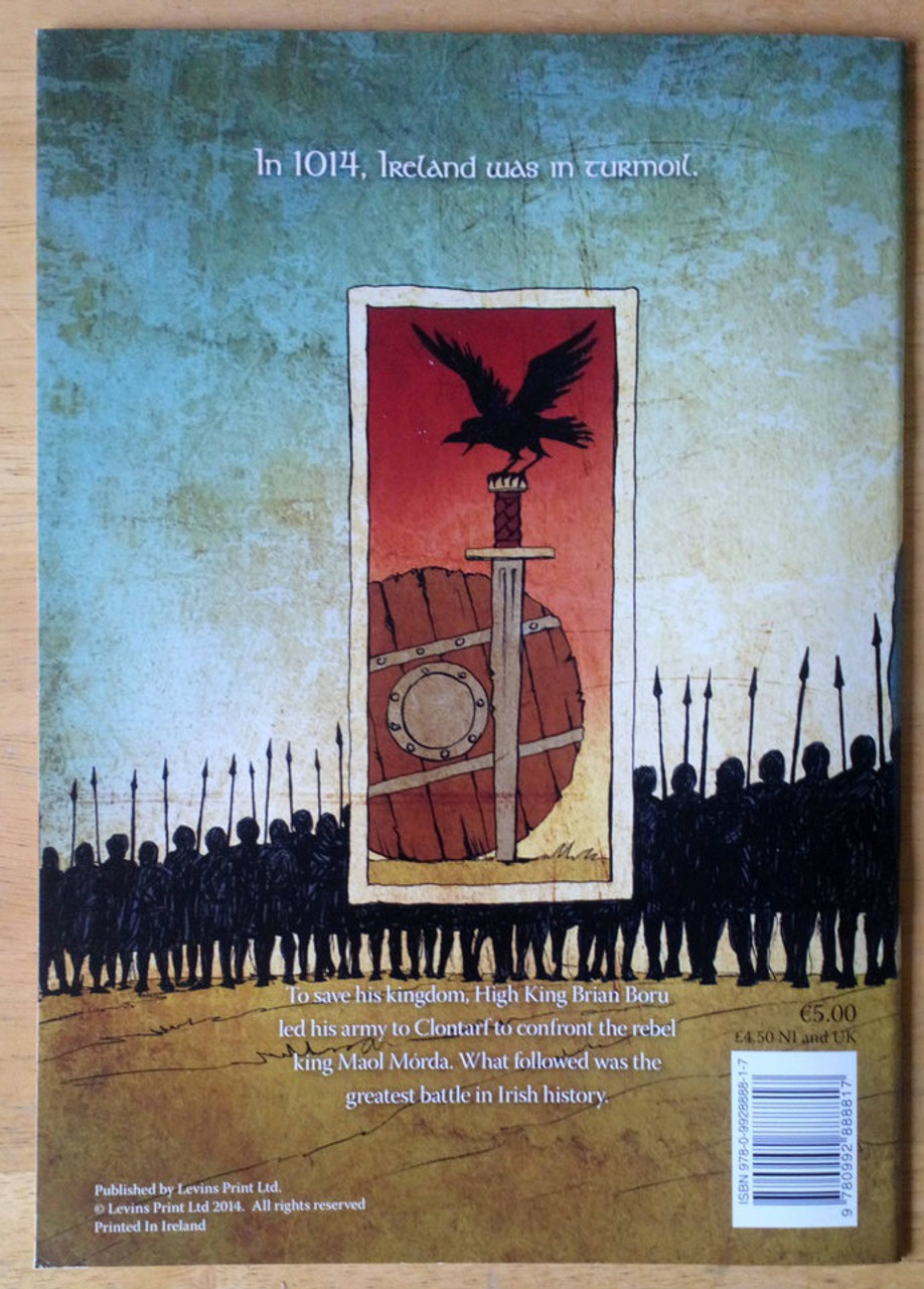 McConville, Rory & De Barra, Deirdre - Brian Boru & the Battle of Clontarf Pb Graphic Novel 2014 BRAND NEW
