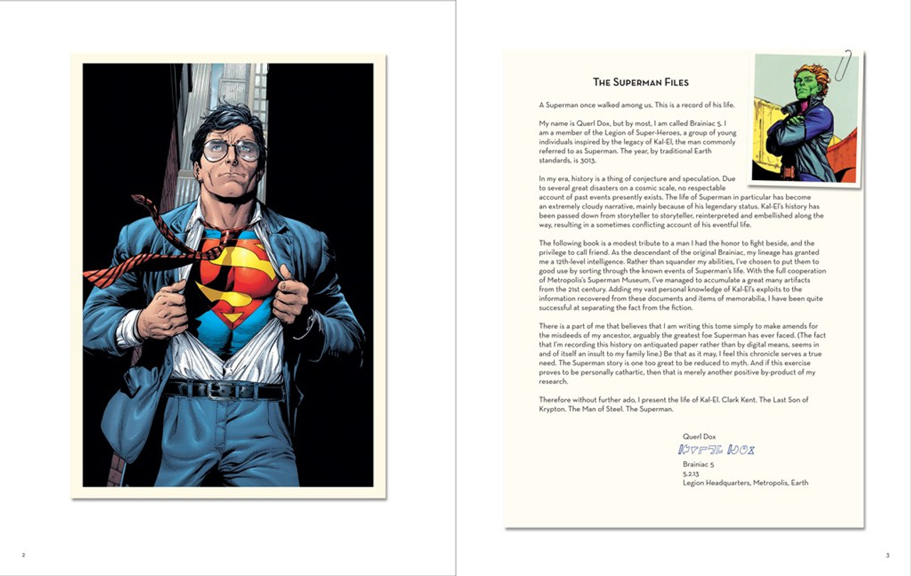 Manning, Matthew - Superman Files Hb Sealed Deluxe Edition DC