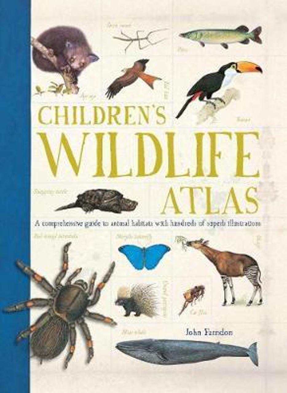 Farndon, John - Children's Wildlife Atlas - Illustrated PB 2017 Brand New  - Nature & Animals