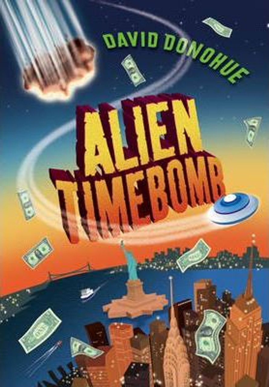 Donohue, David - Alien Timebomb - SIgned PB Children's