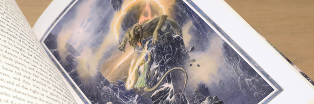 Tolkien, J.R.R - The Fall Of Gondolin - HB 1st Edition Brand NEW, SIGNED by  illustrator Alan Lee