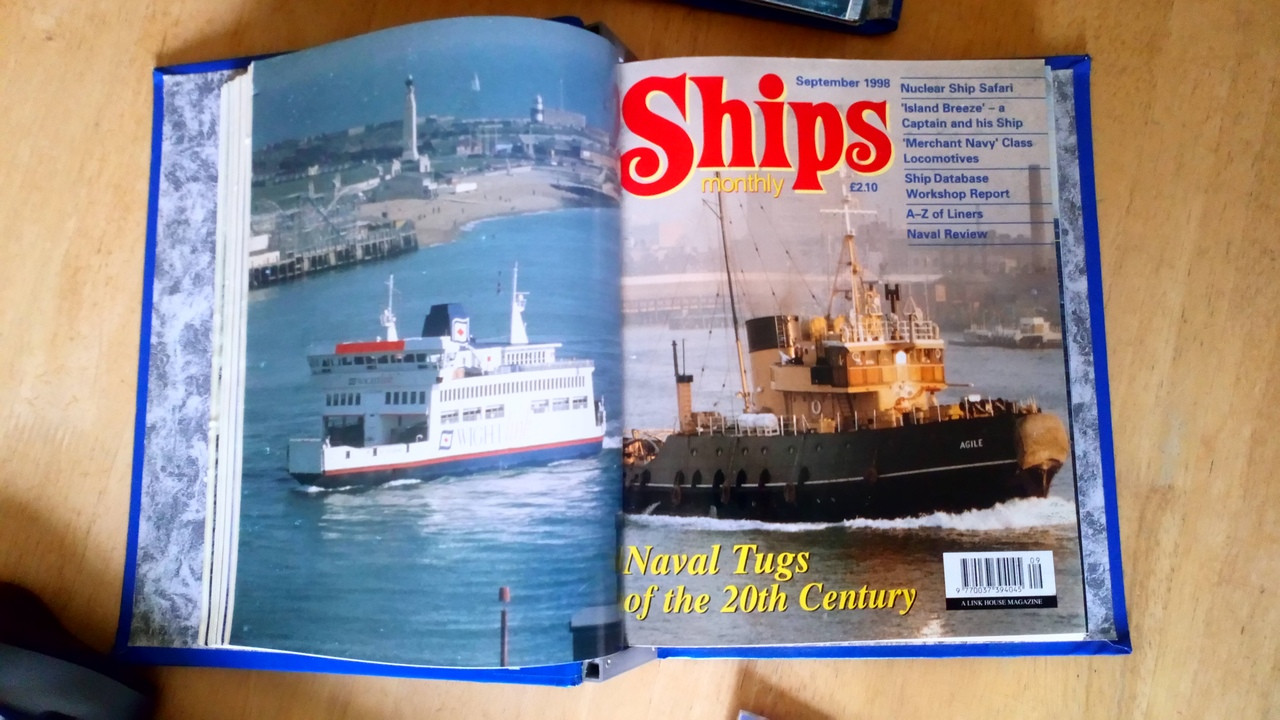 Ships Monthly 2 Bound Editions Magazine - 1997-2000 - Naval & Maritime History
