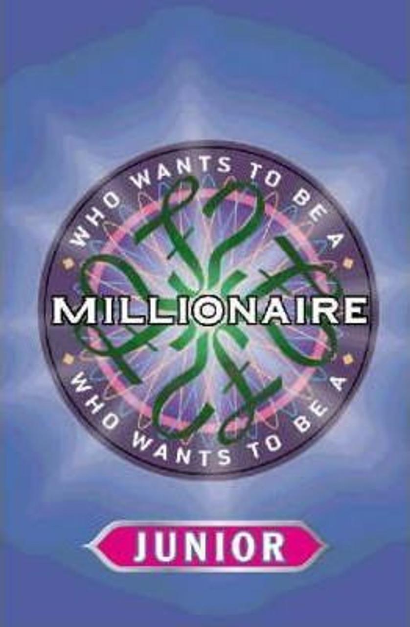 Celador, / Who Wants To Be a Millionaire? Junior Quiz Book (Medium Paperback)