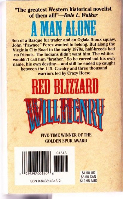 Henry, Will / Red Blizzard