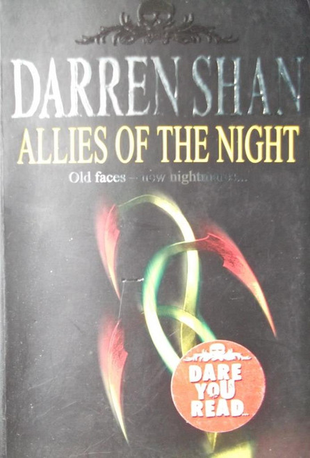 allies of the night the saga of darren shan book 8 shan darren